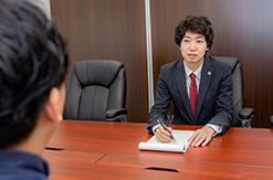 弁護士法人よぴ法律会計事務所の面談風景の写真